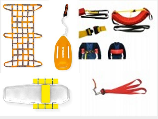 Wasserrettungszubehör, Rettungsgurt, Rettungsschlinge, Gurtretter, Rescue Tube, Rettungsboje, Rettungsleine, Sicherungsleine, Rettungsgurt