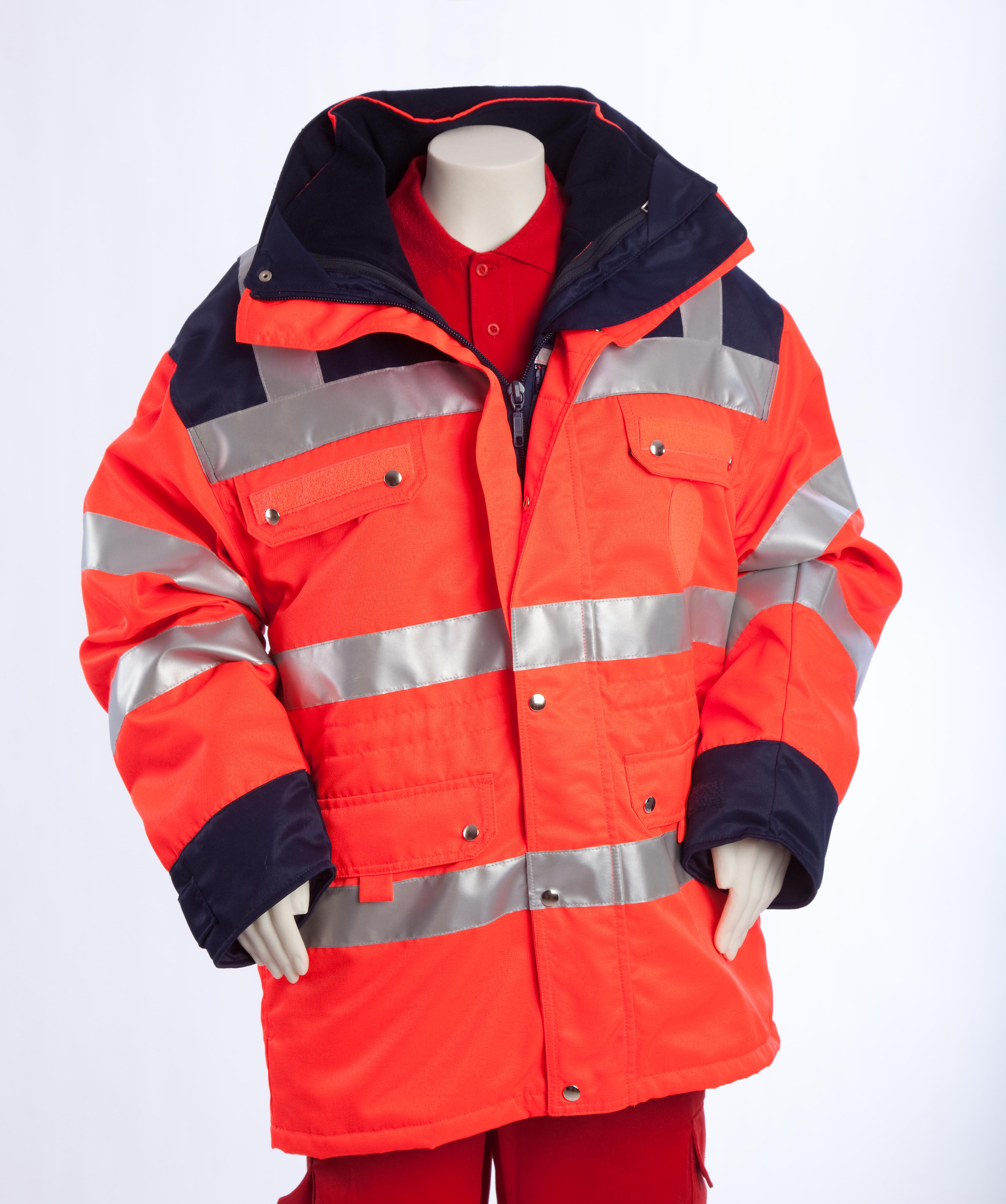 Sonderangebot, Warnschutzanorak, Warnschutzkleidung, - nur solange Vorrat reicht