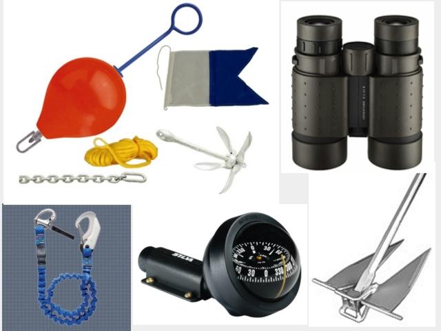 Wassersportzubehör & Bootszubehör, Rettungsweste, Automatikweste, Anker, Bootsfestmacher, Leine, Boje, Paddel,