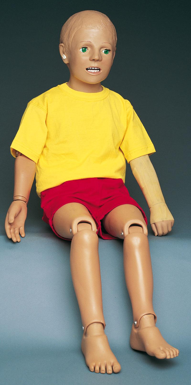 Kinderpflegepuppe 5-jähriger