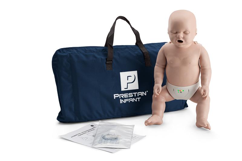 Prestan, HLW Übungspuppe, Baby, mit Leuchtanzeige