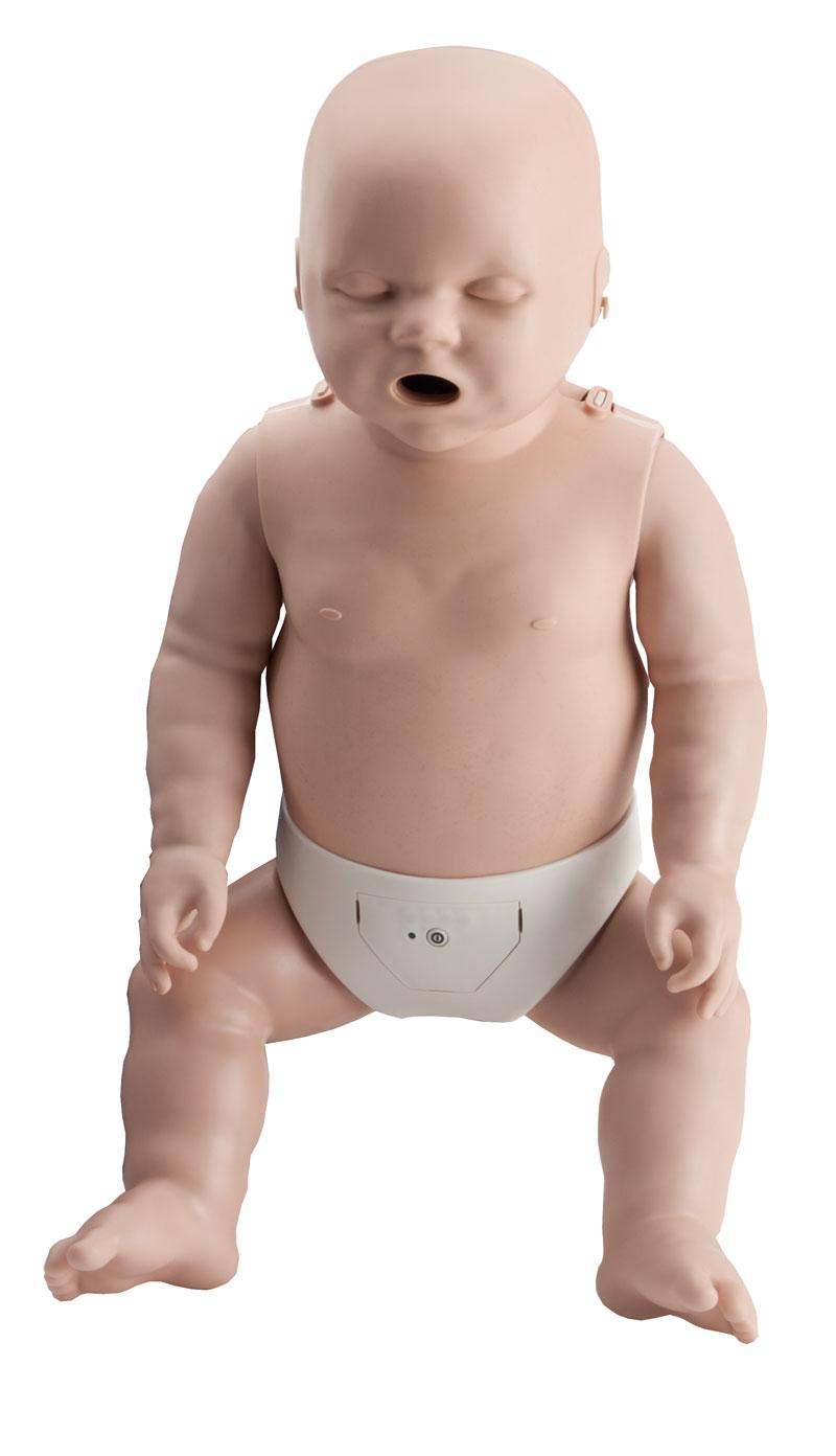 Prestan, HLW Übungspuppe, Baby, 4-er Pack, mit Leuchtanzeige