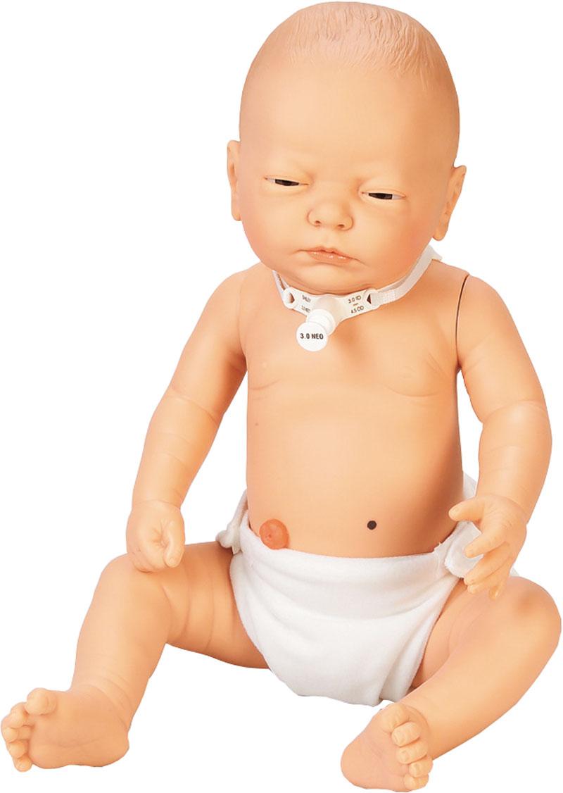 Übungsbaby für die Pflegeausbildung, weiblich